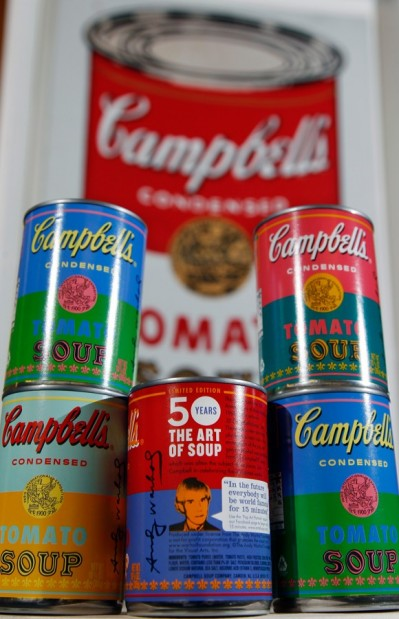 Special edition Campbell's Soup cans