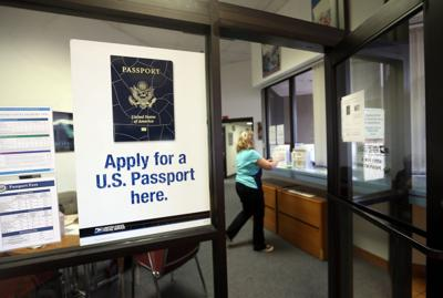 The passport office
