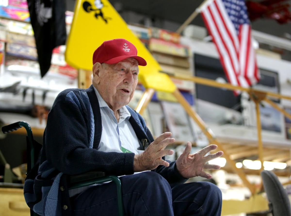 Longtime aviator meets next generation of glider-makers