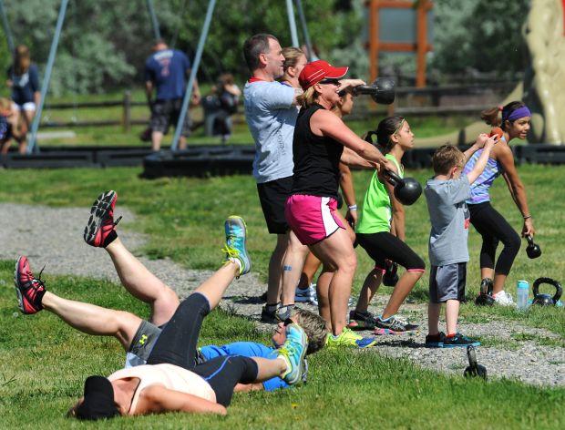 Workout at Lake Elmo