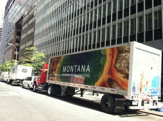 Montana tourism in NYC