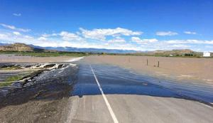 More flooding in central and western Wyoming