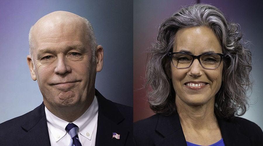 U.S. Rep Greg Gianforte and Kathleen Williams