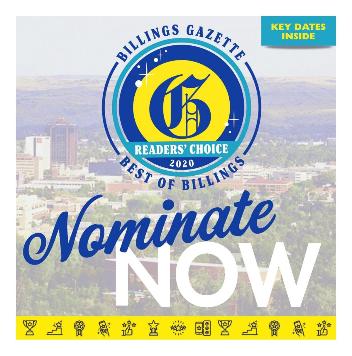Readers' Choice Nomination Guide 2020