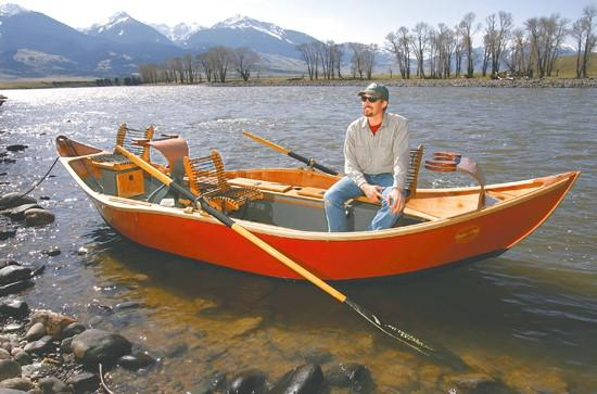 Drift boat maker carves out niche by focusing on style