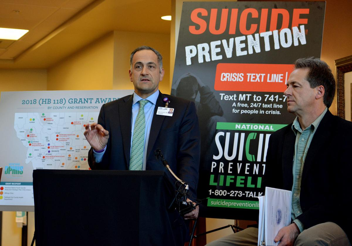 Billings Clinic suicide prevention grant announced