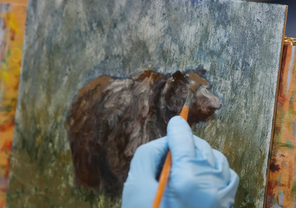 Yellowstone Artists Group prep for show at Rimrock Mall
