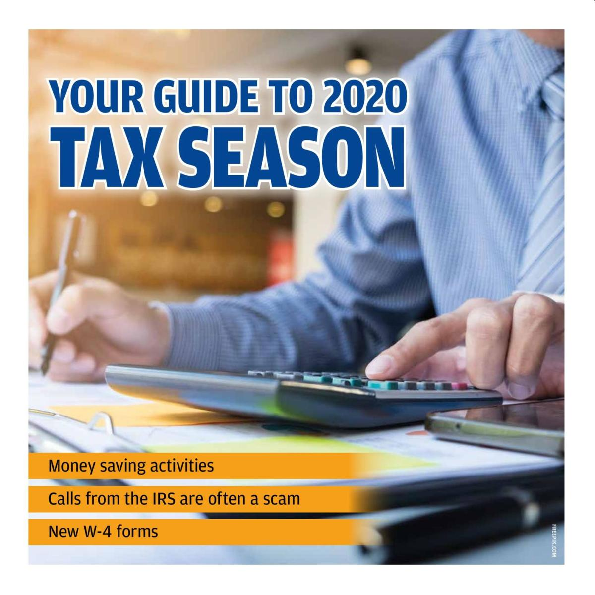 Your guide to the 2020 tax season