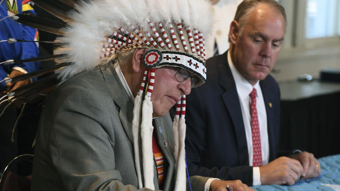 Montana S Blackfeet Tribe Zinke Put Water Deal Into