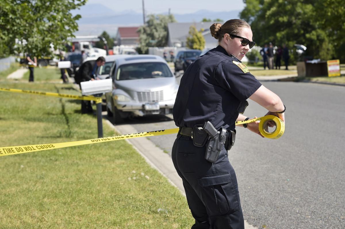 1110 Hannaford crime scene