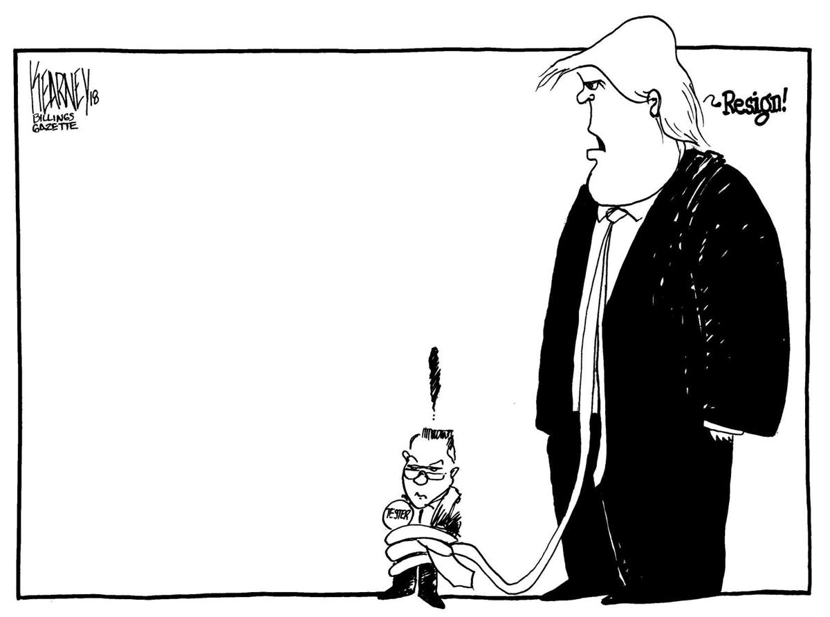 Trump and Tester