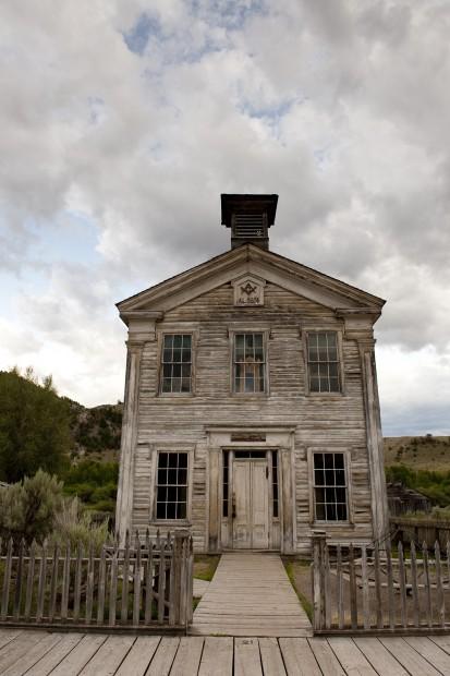 Montana's first Masonic lodge
