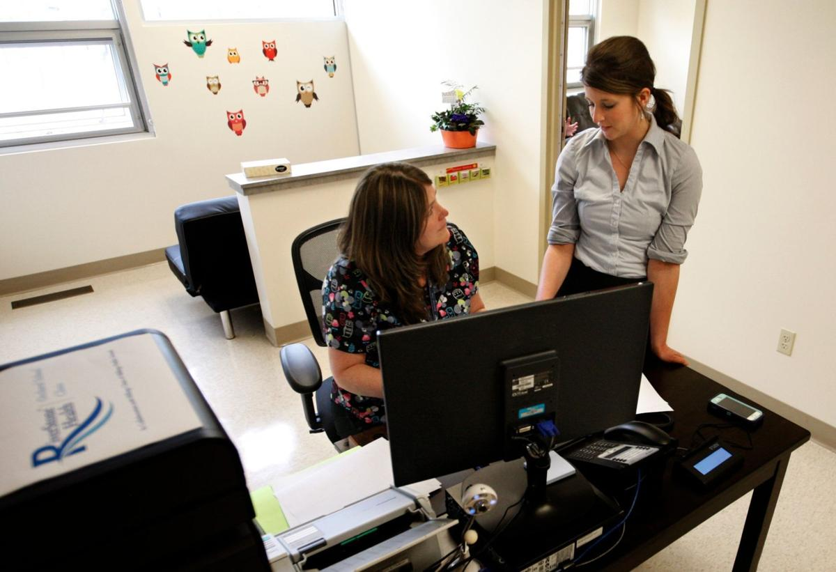 Lauren Bostrom talks with Vicki Sulser