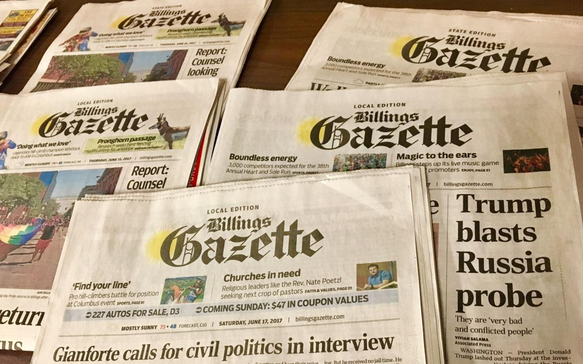 Billings Gazette wins ...
