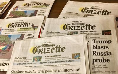 Billings Gazette wins best daily newspaper in Montana at