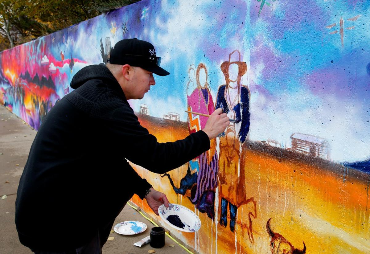 Dream Chasers of Montana mural
