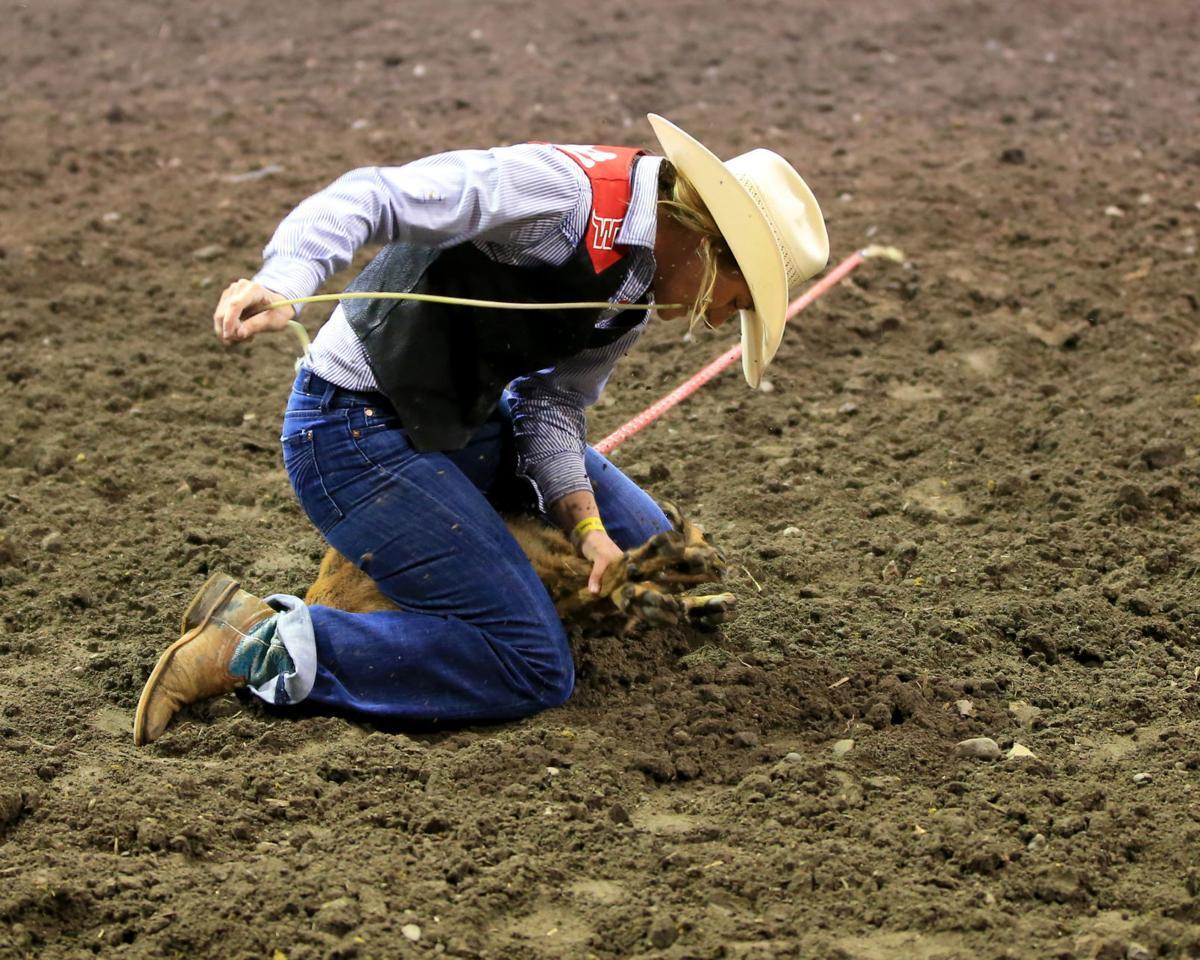 MSU Rodeo - Western's Marlee Mussmann