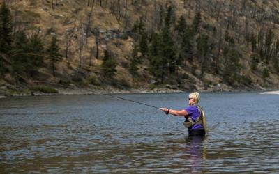 Fly-fishing class