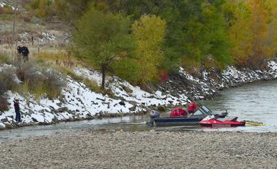 Jet boat rescue on the Yellowstone