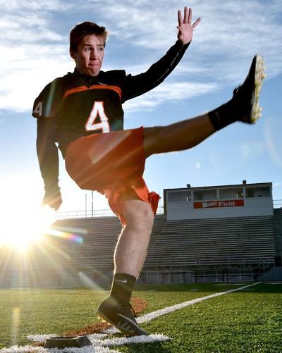 Senior athlete Jason Miller