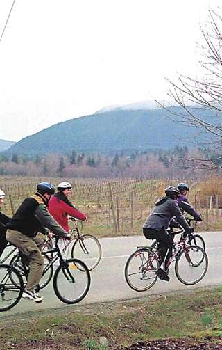 Pedaling for your pinot