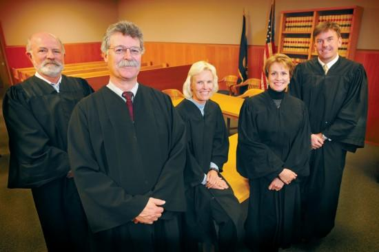 Judges stand for election, but rarely against any one