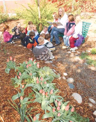 in the learning garden plants lessons cultivate knowledge in children - The Learning Garden