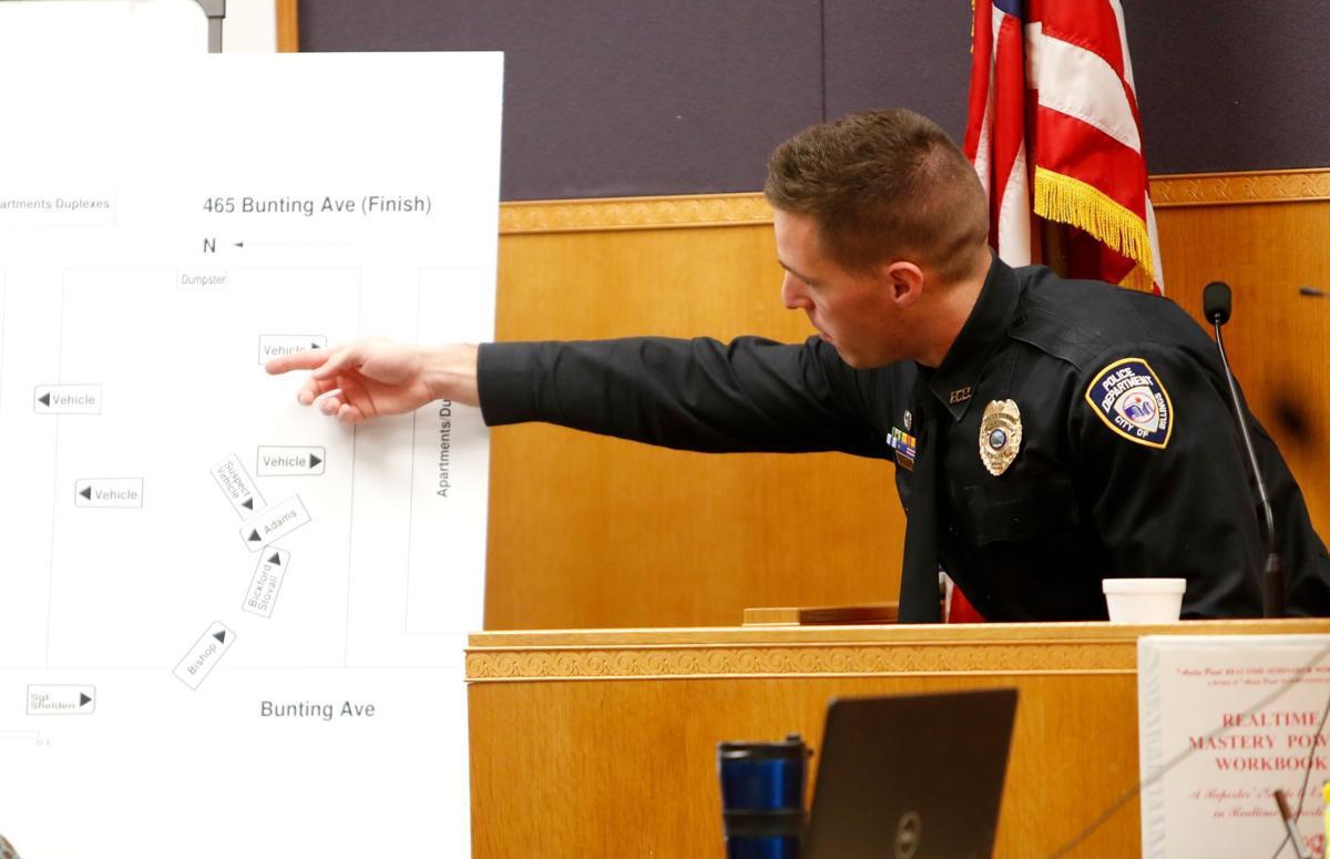 Billings Police officer Cory Kirkpatrick