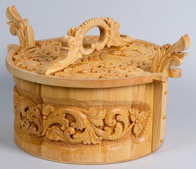 Greg Aldrich's award-winning woodwork