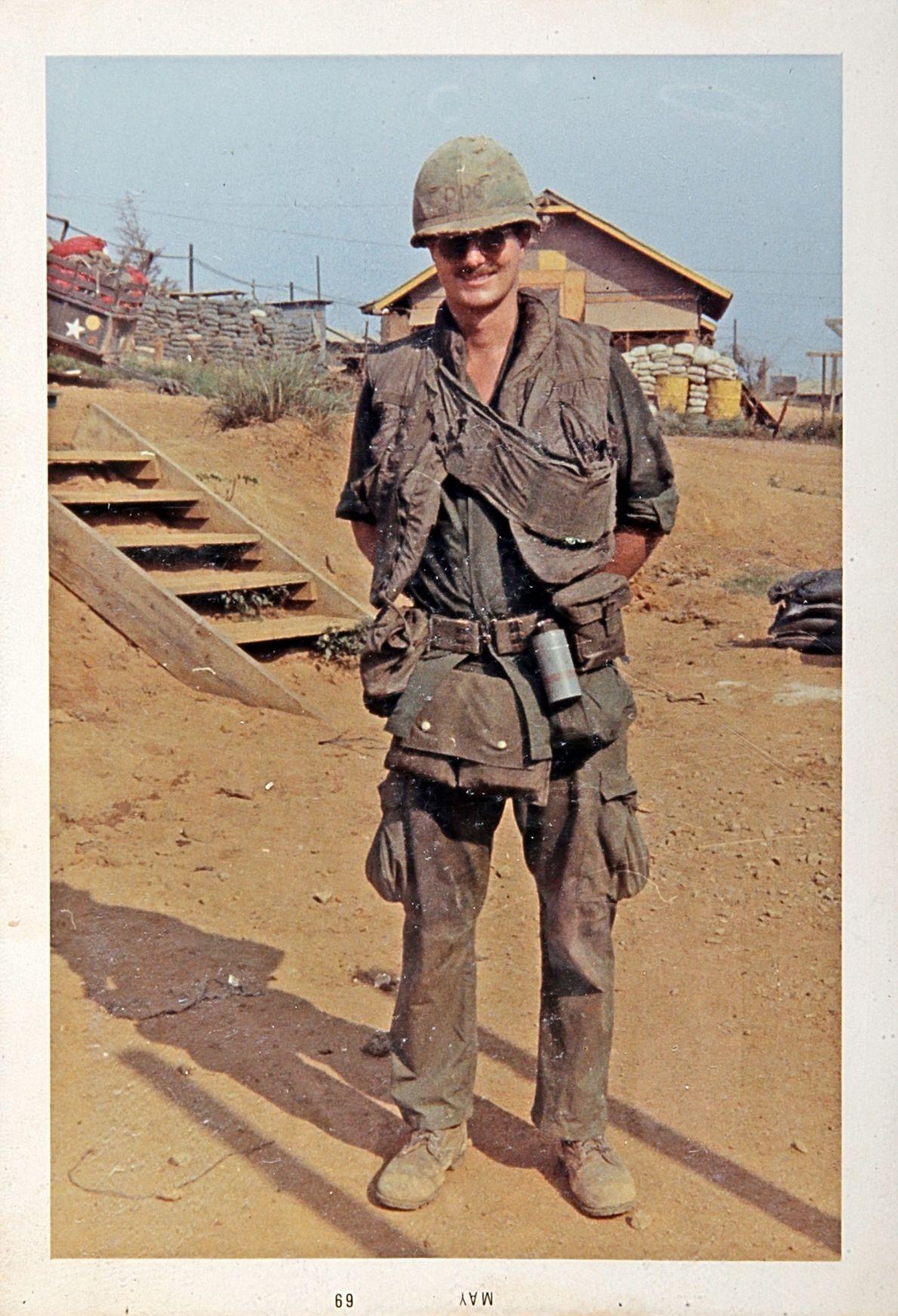 Vietnam Veteran Clint Whitmer Service Photos May 1969