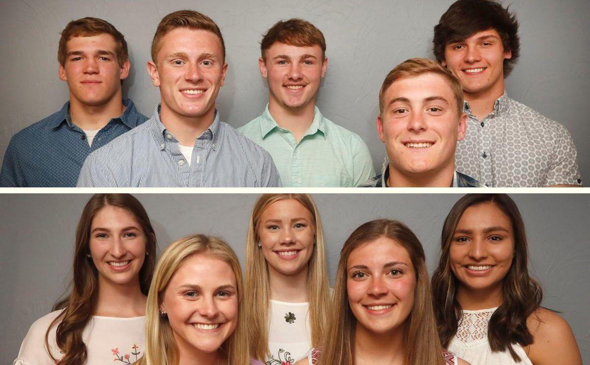 Midland Roundtable Athlete of the year nominees
