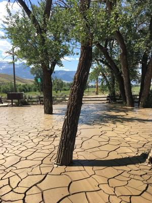 Flash flood buries BLM recreation area in mud