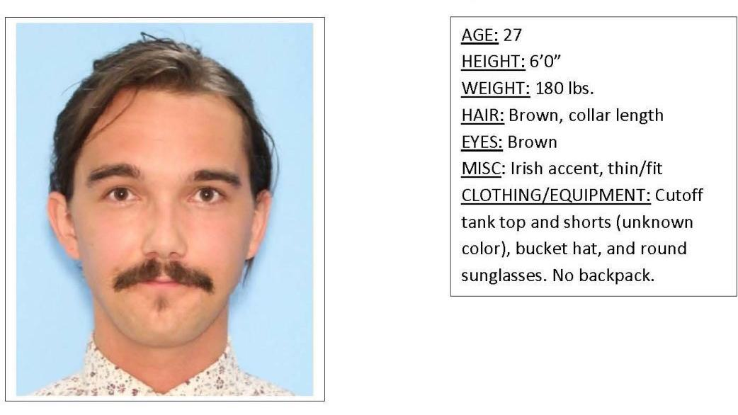 Rangers looking for missing man in Grand Teton National Park