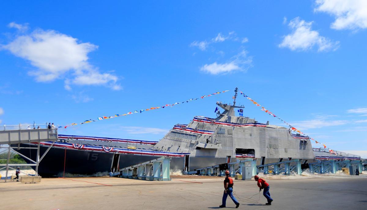 USS Billings in Lake Michigan