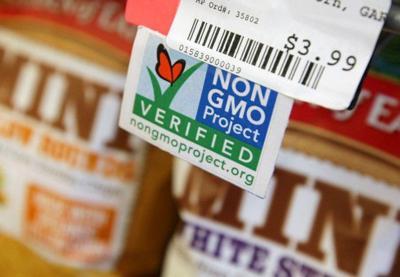 Non GMO verified label