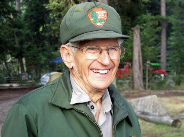 Lyle Ruterbories, oldest park ranger