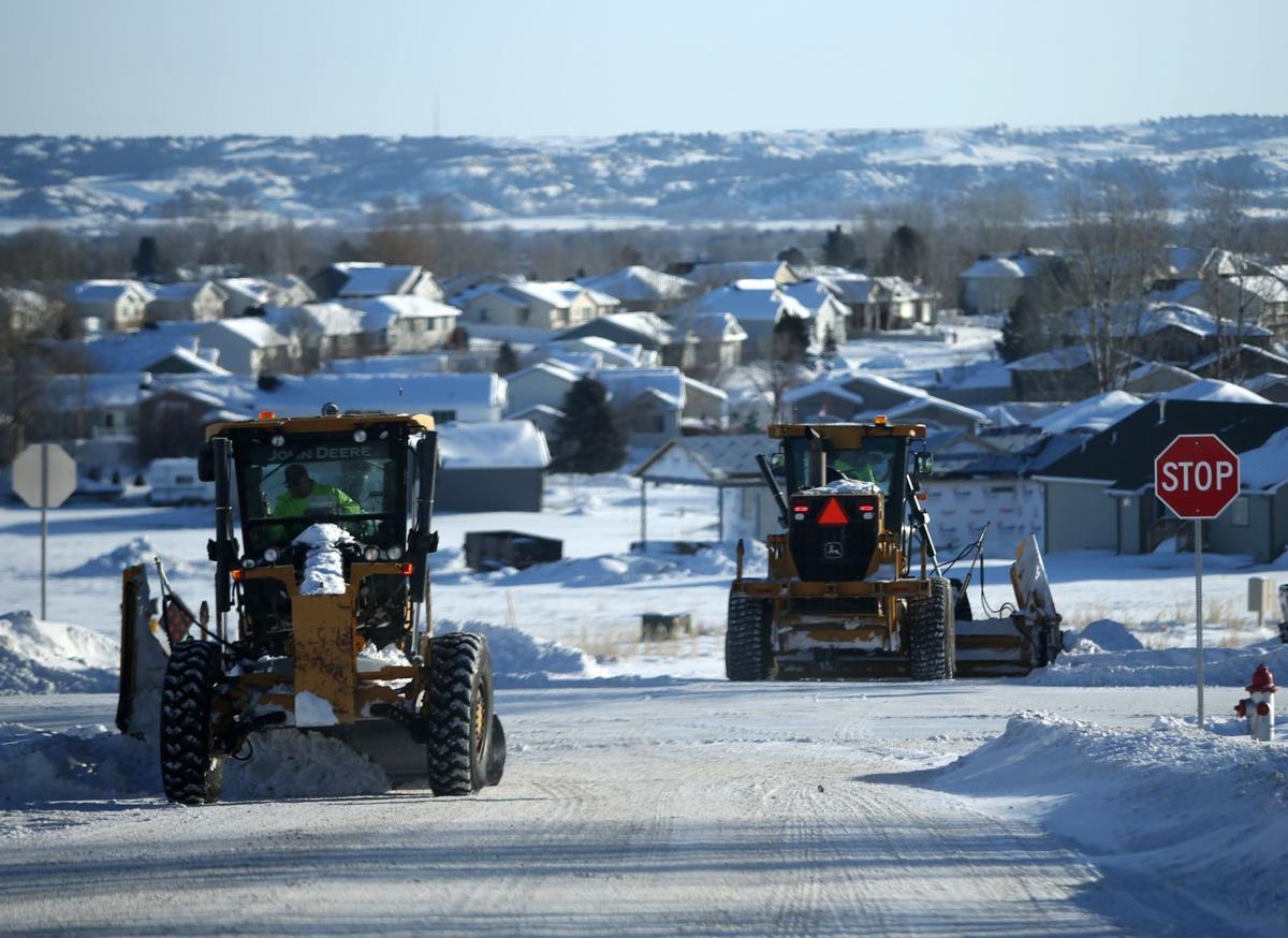 Heights neighborhoods get plowed