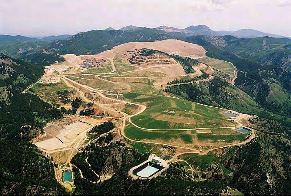 The Zortman-Landusky mine complex (copy)