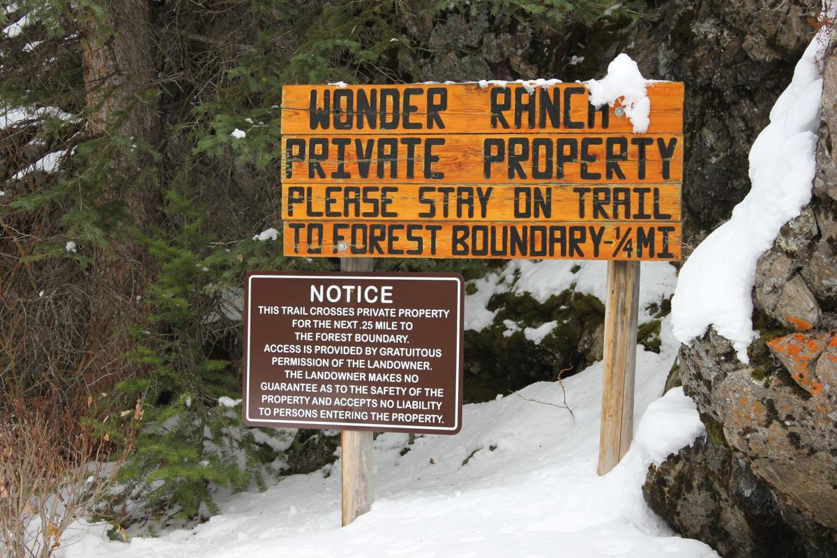 Wonder Ranch sign