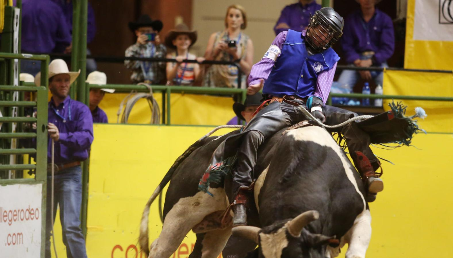 Rodeo rider who was stepped on by bull continues to make progress