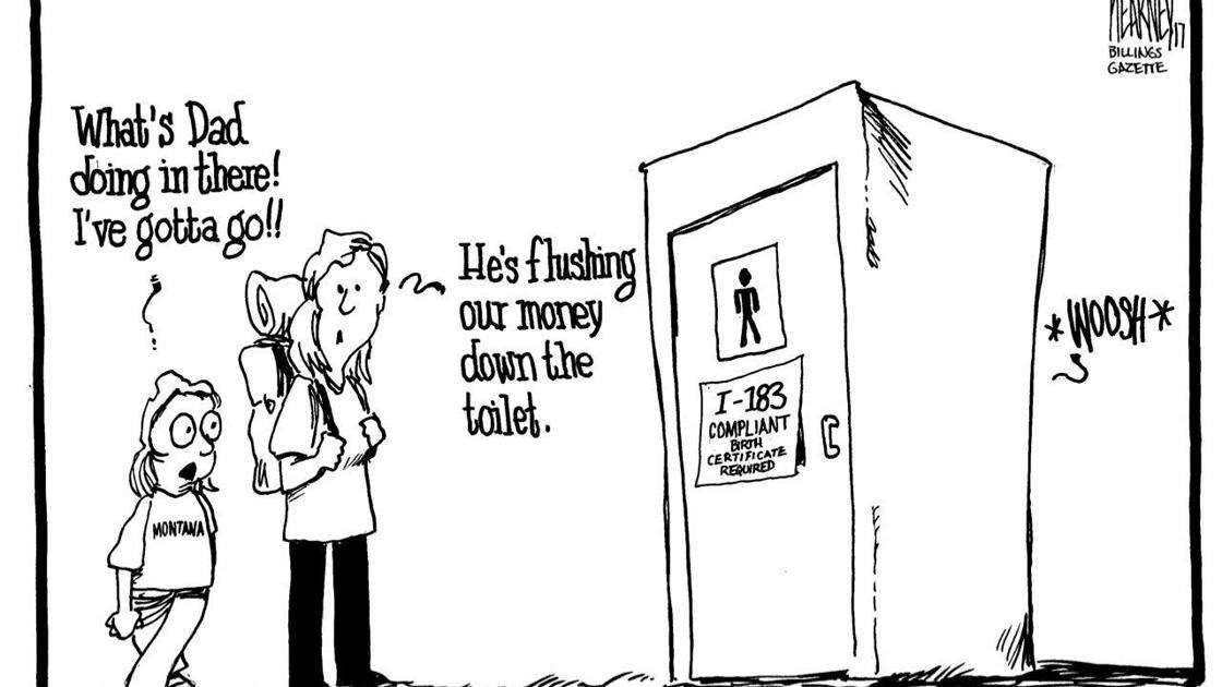 Gazette opinion: The plain meaning of Montana bathroom