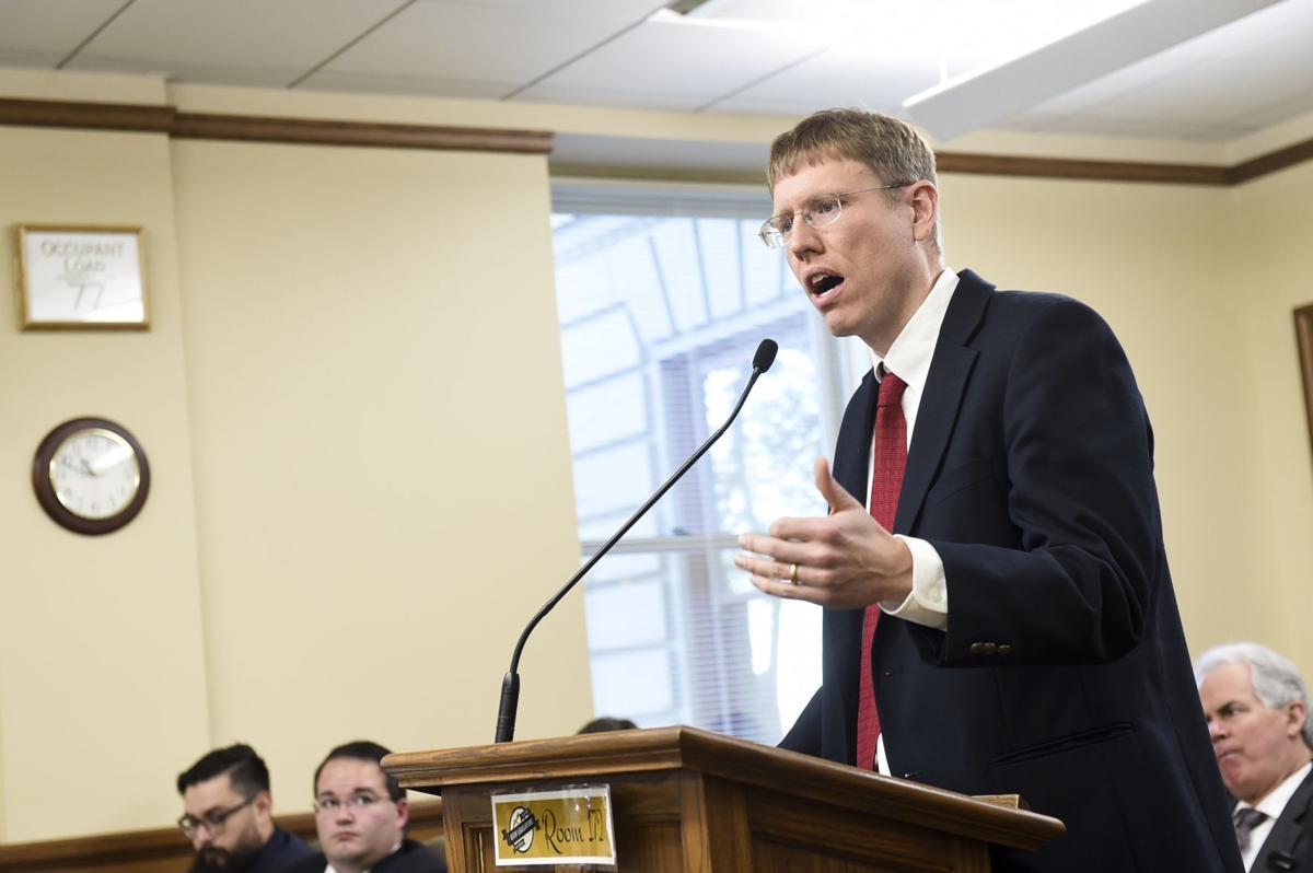 Rep. Steve Fitzpatrick (R-Great Falls) discusses SB5,