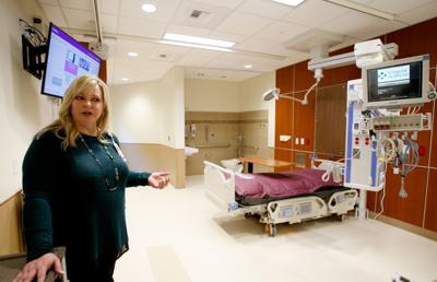 St. Vincent Healthcare ICU