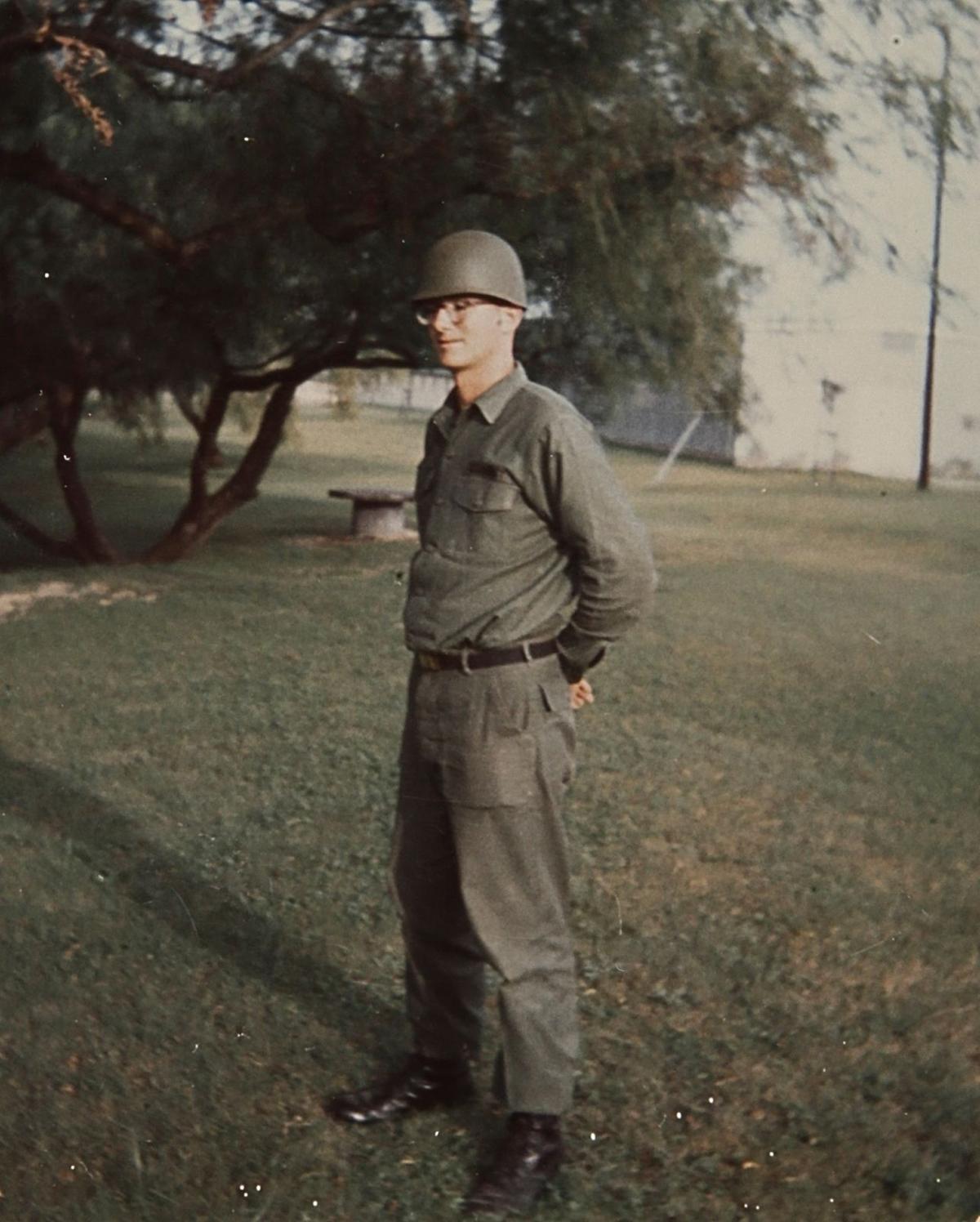 Vietnam Veteran Clint Whitmer Service Photo