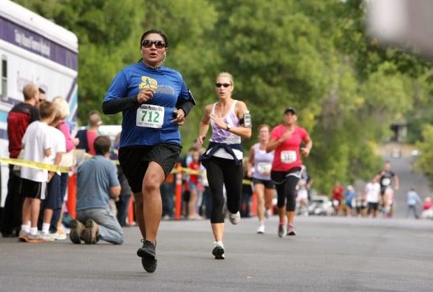 Competitors in the Montana Marathon
