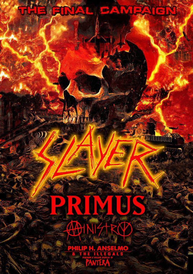 Slayer: The Final Campaign, Nov. 22 in Billings