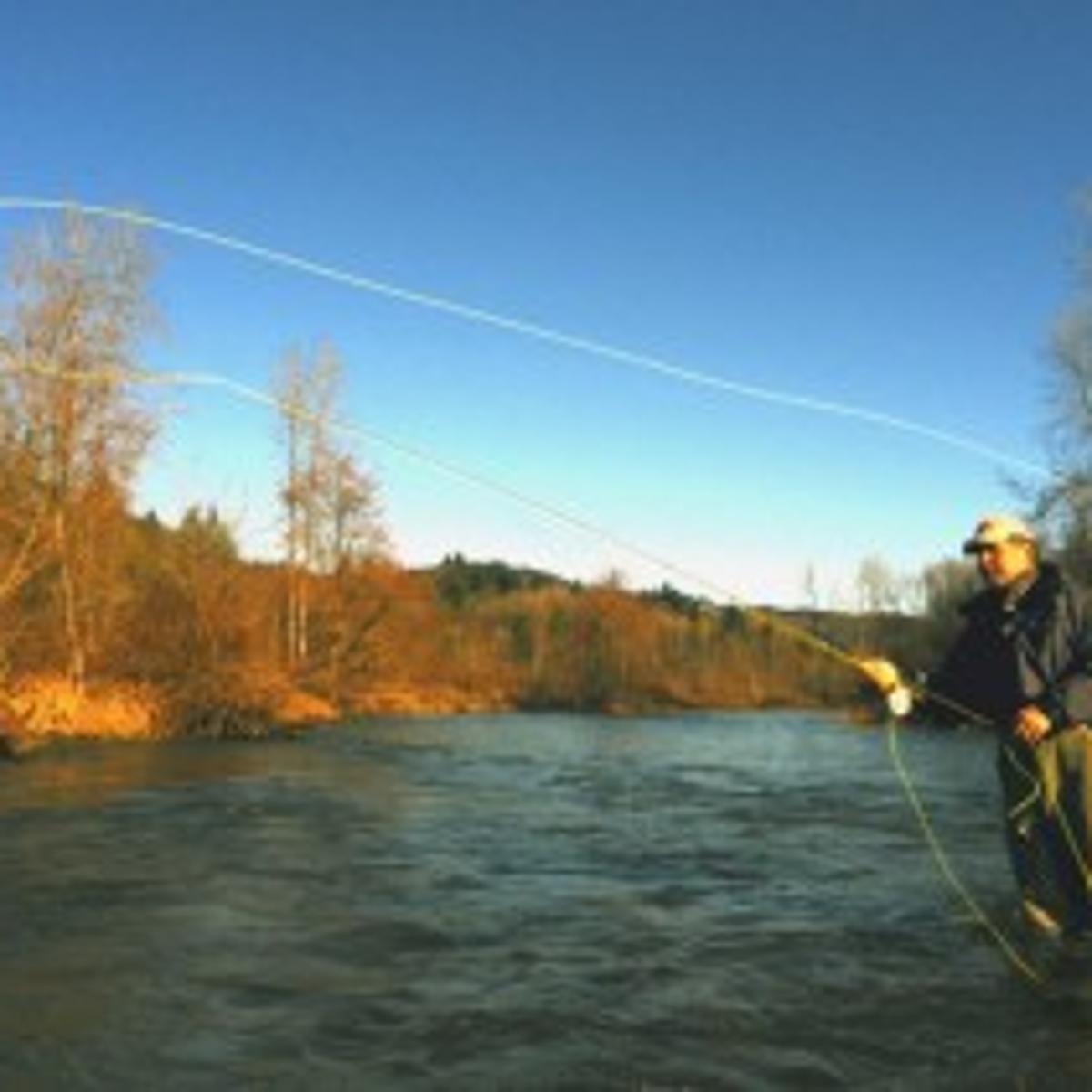 Blue Water High Cast high water offers opportunity to fine-tune fly casting