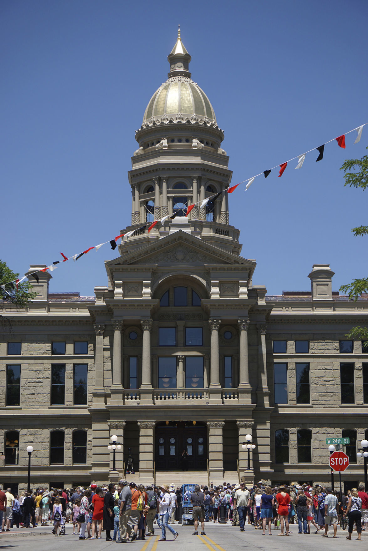 Wyoming Capitol reopens after $300 million renovation