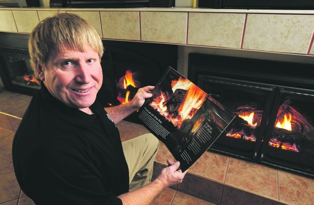 Trevor Craig, owner of the Fireplace Center