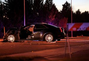 Fatal crash on King Avenue